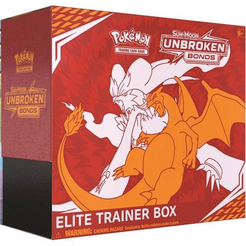 Elite Trainer Box - Sun and Moon Unbroken Bonds