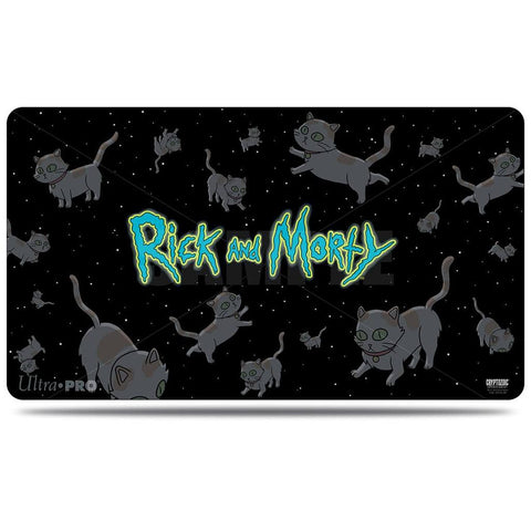 Rick and Morty Playmat Cats