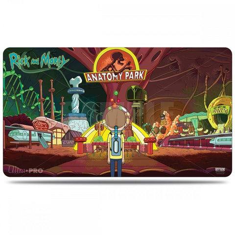 Rick and Morty Playmat Anatomy Park