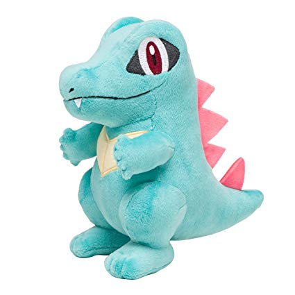 8-inch Pokemon Plush - Totodile