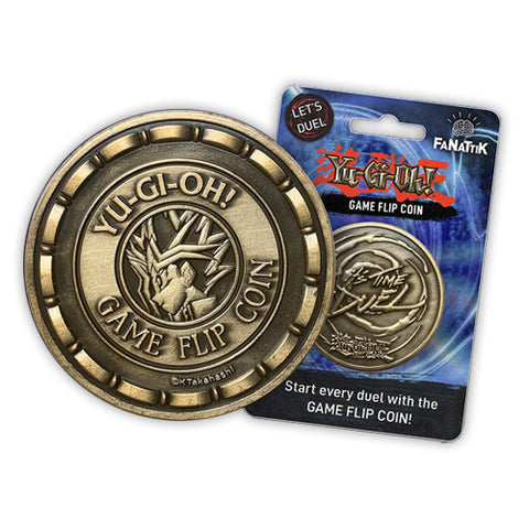 OFFICIAL Yu-Gi-Oh! Game Flip Coin