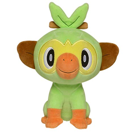 Pokemon Grookey 8 Inch Plush