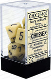 Chessex Opaque Poly Dice (Set of 7)