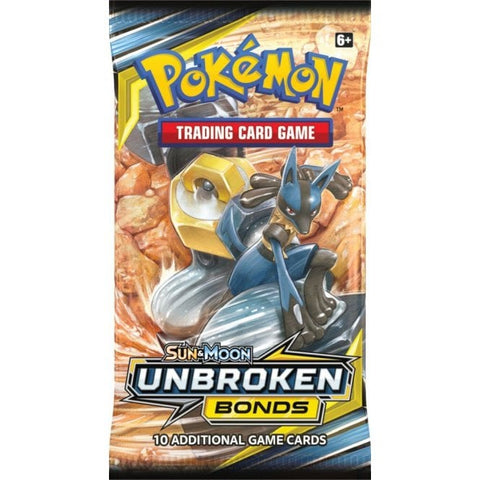 Sun & Moon Unbroken Bonds Booster Pack