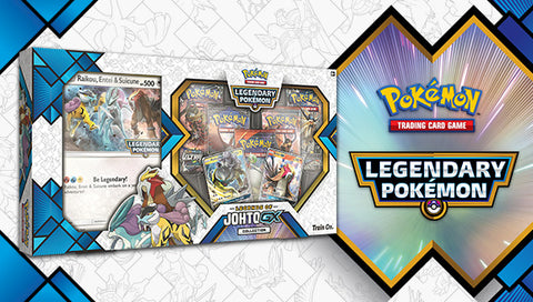 Pokemon Legends of Johto GX Collection