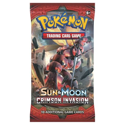 Sun & Moon Crimson Invasion Booster Pack