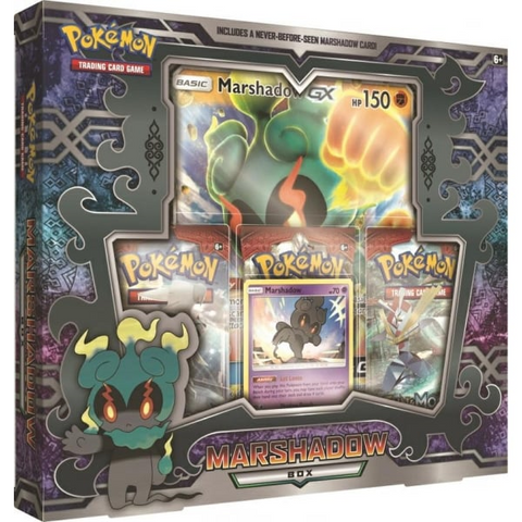 Pokemon Marshadow GX box