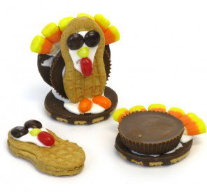 Thanksgiving Cookie Gobbler Recipe