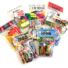 Image of Candy you ate as a kid® decade bags collection