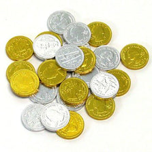 Image of Chocolate Gold & Silver Coins collection