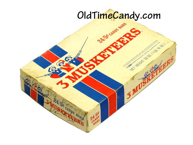 3 Musketeers Candy Box