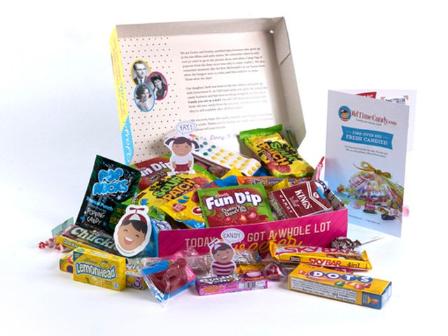 Decade Candy Gift Boxes