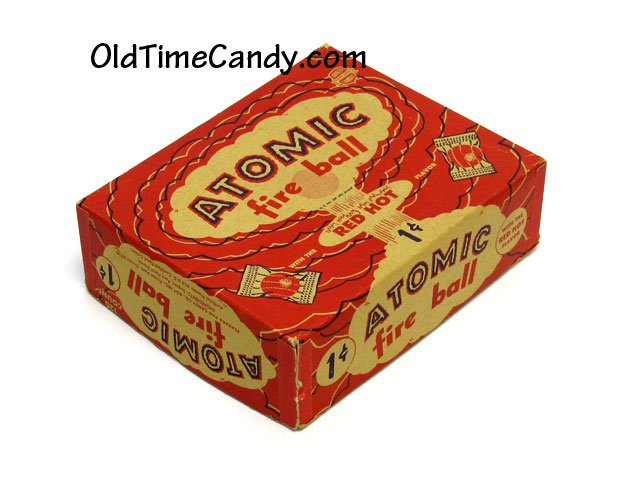 Atomic Fire Balls Candy Box