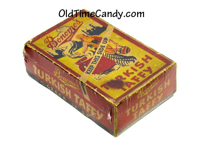 Bonomo's Turkish Taffy box