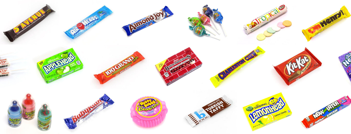 Old Fashioned and Retro Candy - Home of Candy you ate as a kid ...