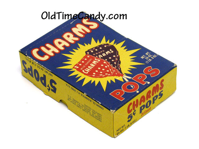 Charms Pops box