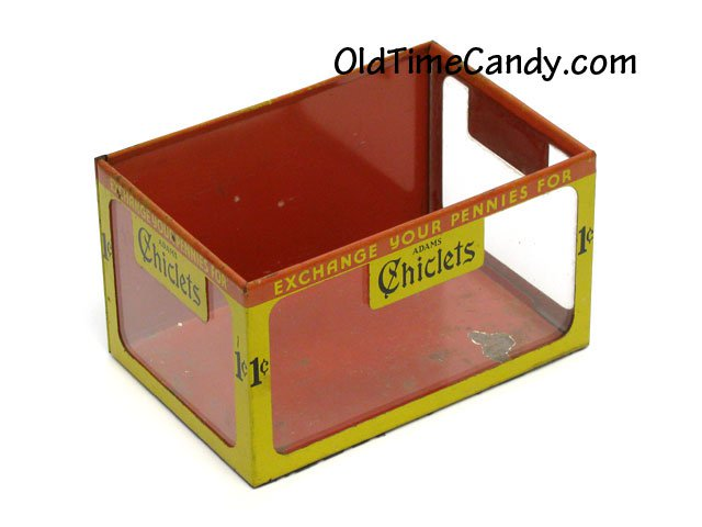 Chiclets Gum counter display