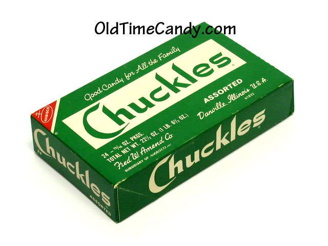 Chuckles candy box