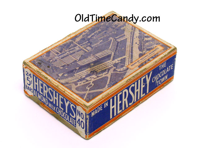 Hershey's Chocolate Almond Bar box