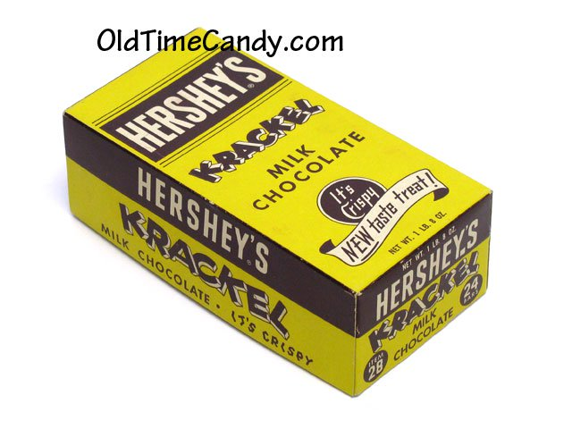 Hershey's Krackel box