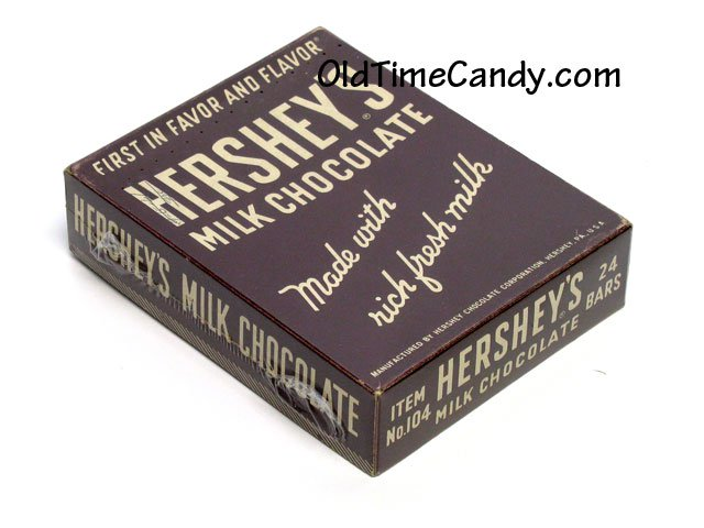 Hershey's Milk Chocolate box