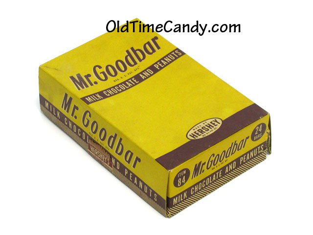 Hershey's Mr Goodbar box