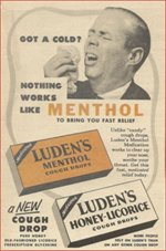 Luden's Cough Drops box