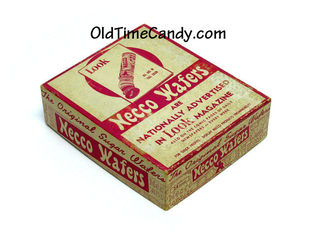 Necco Wafers box