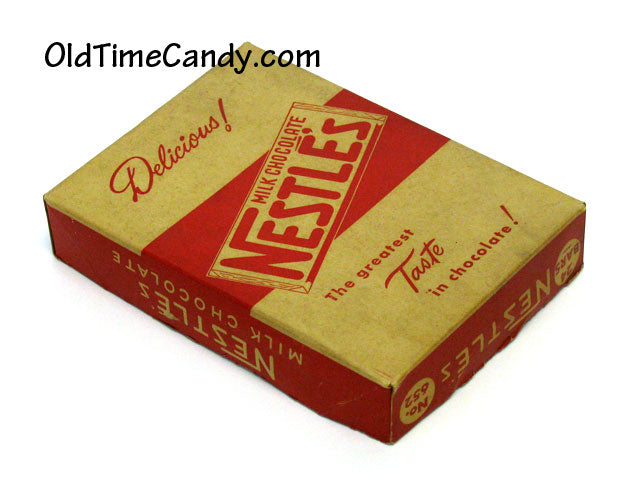 Nestle' Chocolate Bar box