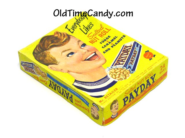 PayDay Candy Bar box