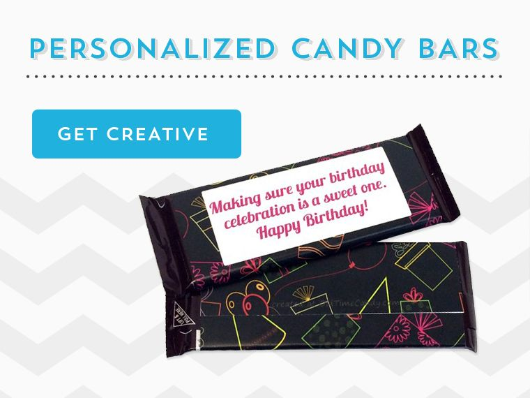 customized candy bar wrappers