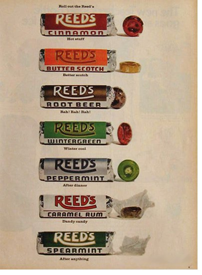 Reed's Candy Rolls