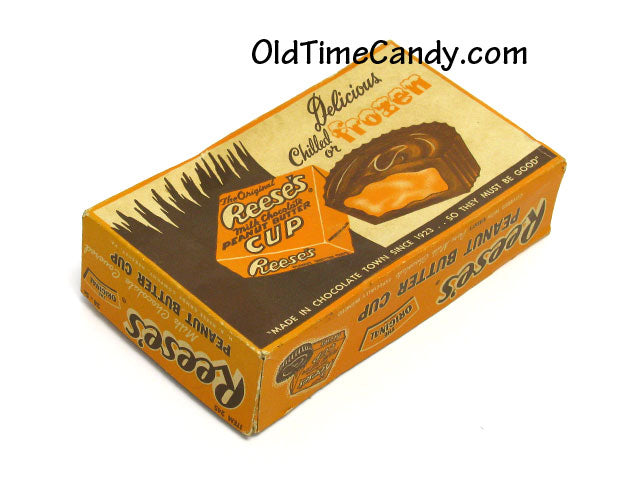 Reese's Peanut Butter Cups candy box