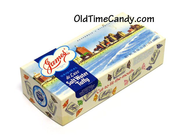 Salt Water Taffy box