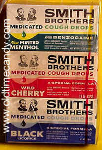 Smith Brothers Cough Drops box