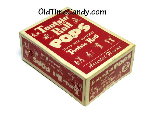Tootsie Pops box