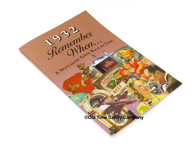 1932 Remember When Candy History Booklet