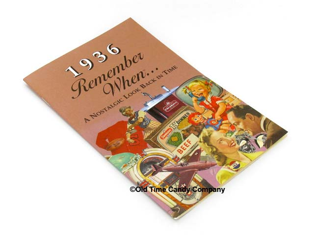 Remember When Booklet - 1936