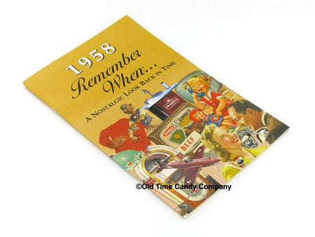 1958 Remember When Candy History Booklet
