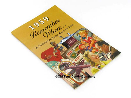 1959 Remember When Candy History Booklet