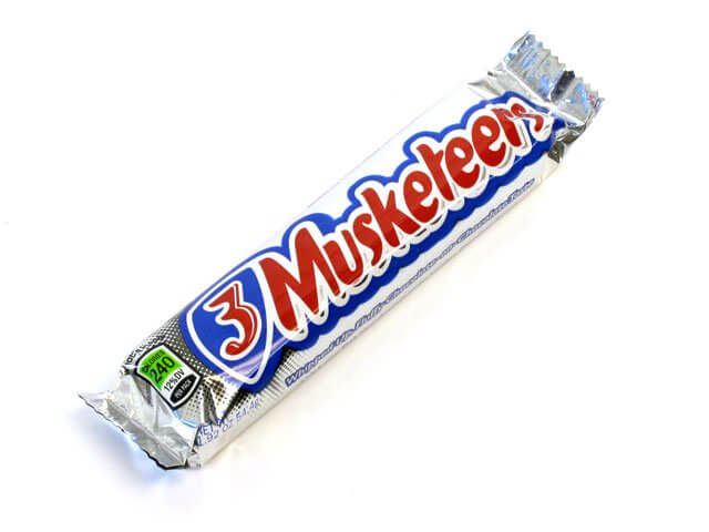 3 Musketeers - 1.92 oz bar