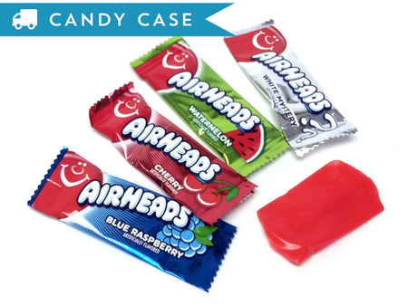 Airheads Mini Bars - bulk 25 lb case (950 ct)