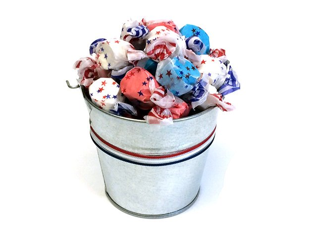 All American Taffy Candy Pail