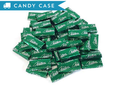 Andes Mints - bulk 20 lb case (1840 ct)