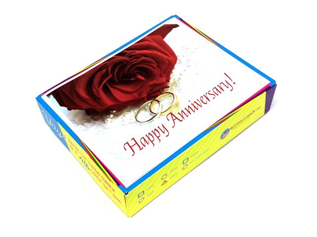 Anniversary Decade Gift Box - Wedding Rings
