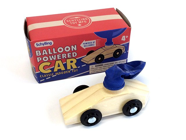 Balloon Powered Car Toys You Played With As A Kid Oldtimecandy Com