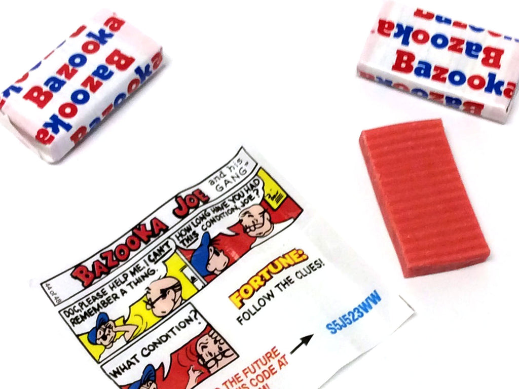 Bazooka Bubble Gum - 1 piece | OldTimeCandy.com