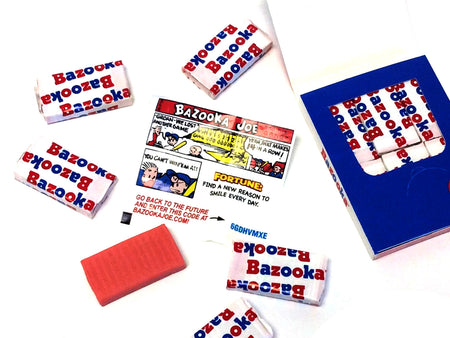 Bazooka Gum Mini Wallet - 6 piece
