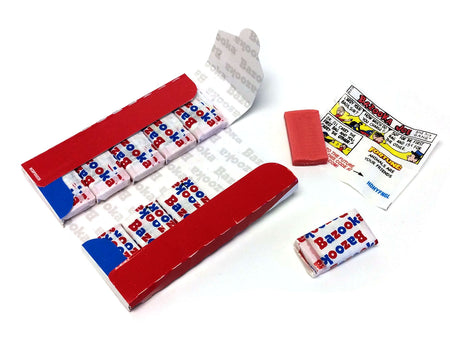 Bazooka Gum Wallet 2.11 oz - 10 piece - box of 10