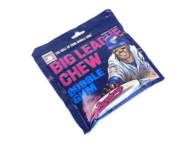 Big League Chew - blue raspberry - 2.1 oz pouch